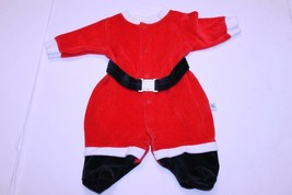 Infant/Baby Santa Claus 3 Months Footies Outfit Little Me - $15.88