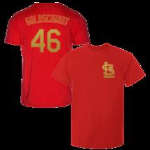 Paul Goldschmidt T-Shirt St Louis Cardinals MLB Soft Jersey #46 (S-3XL) - $18.95
