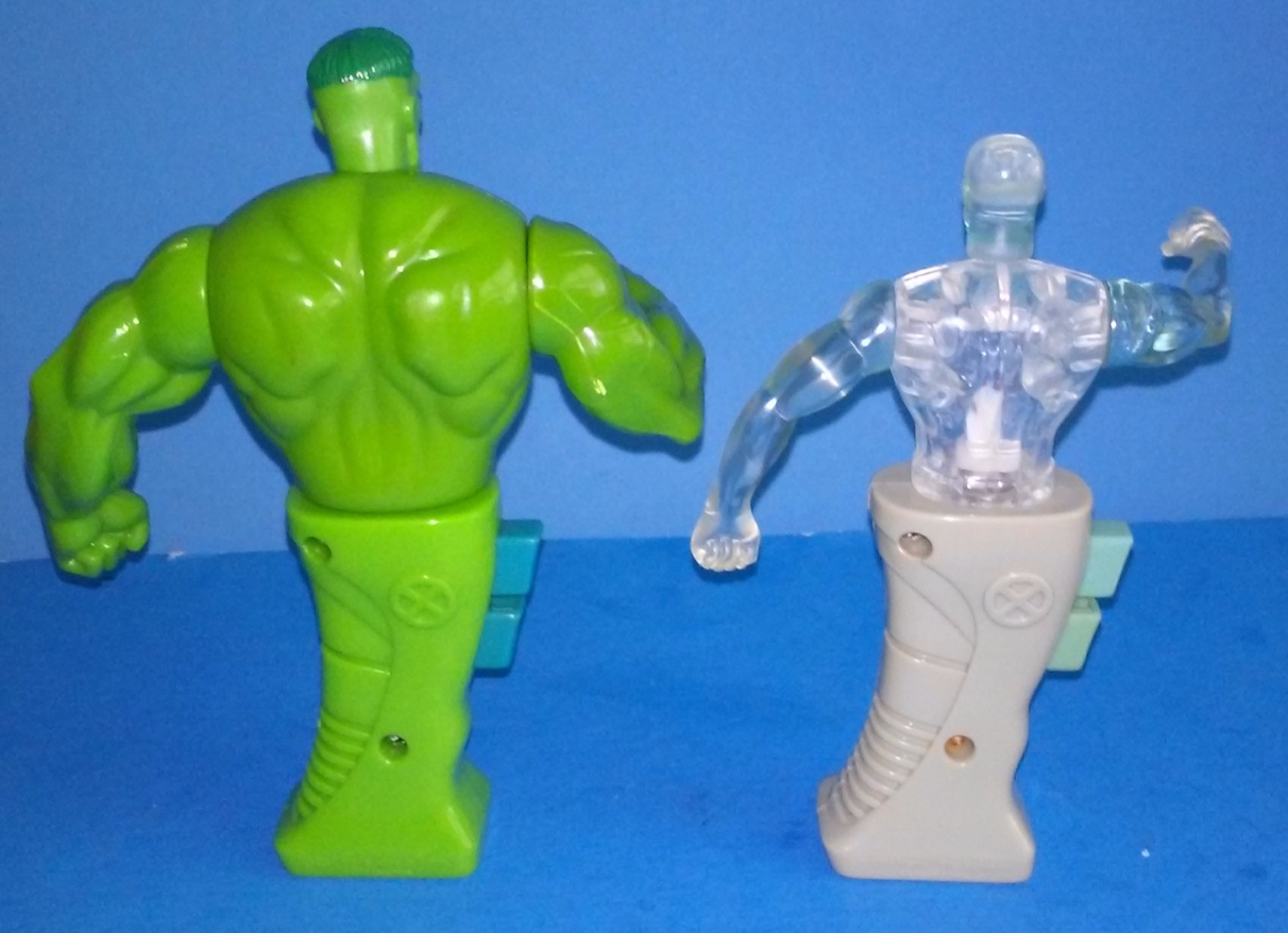 Marvel Legends X-men Hulk Ice-Man Punching Action figures by MAXX