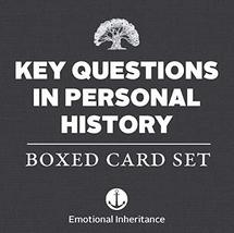 Key Questions in Personal History: Boxed Card Set [Cards] Emotional Inhe... - $18.87