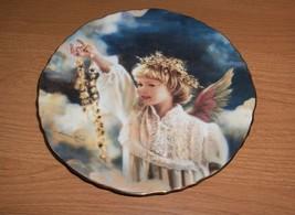Angel Of Sunshine Sandra Kuck Precious Angels Porcelain Collector's Plat... - $35.00