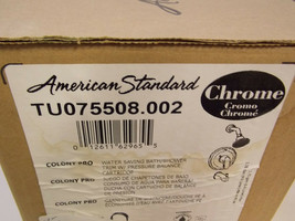 American Standard TU075.508.002 Colony PRO Tub and Shower Trim - Chrome - $50.00
