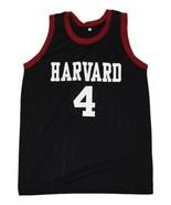 Jeremy Lin #4 Harvard New Men Basketball Jersey Black Any Size0 - $44.99+