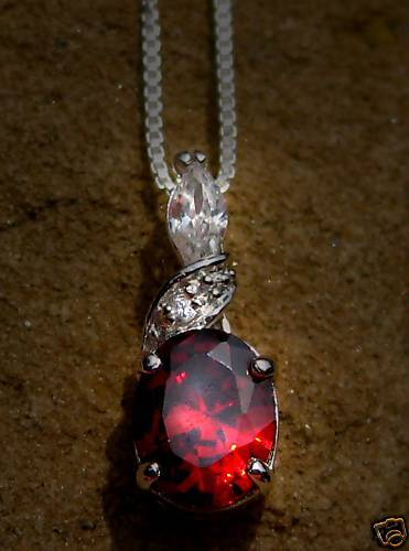Primary image for HAUNTED FEMALE RUBY PRINCESS GENIE DJINN PENDANT