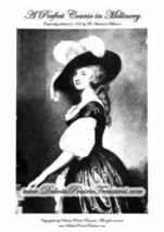 Millinery Book Hat Making Make Hats Perfect Course 1925 - $17.99