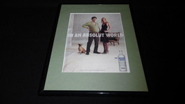 2007 Absolut Vodka Framed 11x14 ORIGINAL Vintage Advertisement - $34.64