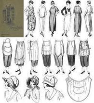 Apron Book Make Aprons Dust Caps Flapper Costumes 1923 image 3