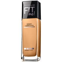 Maybelline Dewy +Smooth Fit Me Foundation Normal to Dry - 240 Golden Beige - $7.49