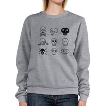 Skulls Grey Sweatshirt - $20.99+