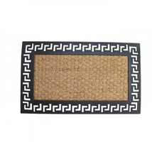 Welcome Mat With Geometric Border - $23.50