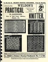 Shawl Book Knit Victorian Shawls Lacy Patterns c1910 - $12.99