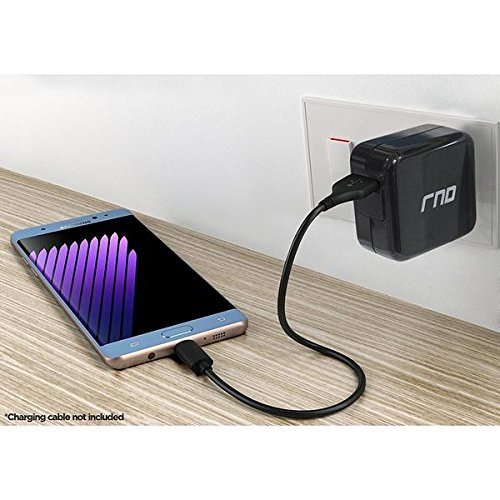 RND QC3.0 Quick Charge compatible USB AC / Wall Charger (QC2.0 Compatible) with  image 5
