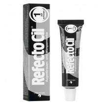 RefectoCil Eyelash & Eyebrow Cream Hair Dye, Pure Black  .5 oz
