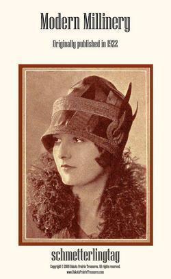 Modern Millinery Hat Book Make Flapper Era Hats 1922 image 2