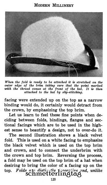 Modern Millinery Hat Book Make Flapper Era Hats 1922 image 3