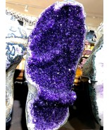 AMETHYST GEODE FROM BRAZIL CRYSTAL QUARTZ PIRATE GOLD TREASURES MINERAL ... - $7,100.00