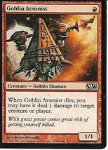 Magic the Gathering Card- Goblin Arsonist - $1.00