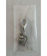 Decorative Dangle Heart Charm Connected Hearts Design - $7.20