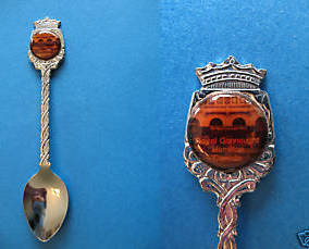 HAMILTON Ontario Souvenir Collector Spoon Collectible ROYAL CONNAUGHT HOTEL
