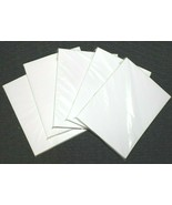 "❤️ 1000 8.5"" x 5.5"" White Blank Shipping Labels Half-Sheet Self Adhesive... - $19.00"