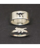 T-Rex Dinosaur Promise Ring for Couples - $52.00