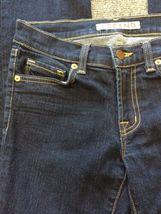 Anthropologie J BRAND Jeans Straight 805 Ink Dark Wash Low Rise Size 24 Women's image 3
