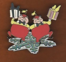 Tweedle Dee and Dum  form Alice  in Wonderland AUTHENTIC Disney pin - $45.99