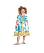 Disney Pixar Brave Merida Royal Dress Child Costume Plus Wig  SZ  M 7/8 - $34.99