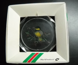 Mag Nif Christmas Ornament 1980 Holiday Hang-Ups Optical Plastic Original Box - $8.99