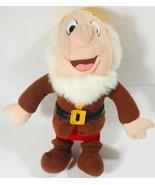 "Disney Snow White and the Seven Dwarfs Happy Plush Mattel 1993 12"" Stuff... - $16.92"