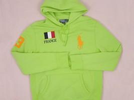 NEW Polo Ralph Lauren Sweatshirt Hoodie!  *Italy, Great Britain, France, Brazil* - $74.99