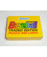 Donruss 1989 Baseball Traded Edition Puzzle and Cards - $4.00