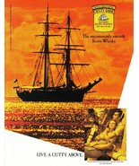 Cutty Sark The Uncommonly Smooth Scots Whisky Full Page Ad 1989 Near Mint - $3.99