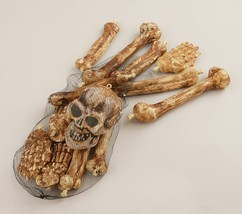 Bag Of Bones Halloween Prop Haunted House Skeleton - $20.19