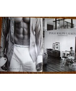 Polo Ralph Lauren The New Classic Boxer Brief 2002 2 Page Print Ad Near ... - $5.99