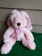 """Vintage Commonwealth 1999 Soft Pink Bunny/Rabbit Plush Toy 23""""Tall - $30.00"""