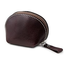 Ancicraft Coin Purse Wallet Leather Change Pouch Car Key Holder Case with Zipper