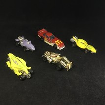 Lot of 5 Vintage 1980s Hot Wheels Speed Demons & 1993 McDonald's Cars - Mattel - $14.80