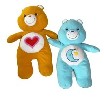 """Care Bears Bedtime And Tenderheart Bear 28"""" Inch Plush Toy Animal From 2... - $74.44"""