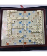 Scrabble Crossword Game Travel Folio Edition Zipped Case 2001**PARTS ONLY** - $11.88