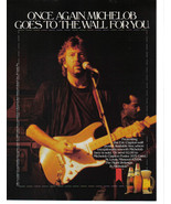 Michelob 1988 2 Pages Print Ads Eric Clapton & Michelob Dry - Original N... - $7.69