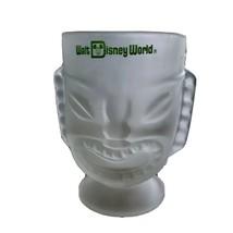"Disney World Polynesian Village 6"" Tall Frosted Glass Tiki Bar Mug Vintage - $29.48"