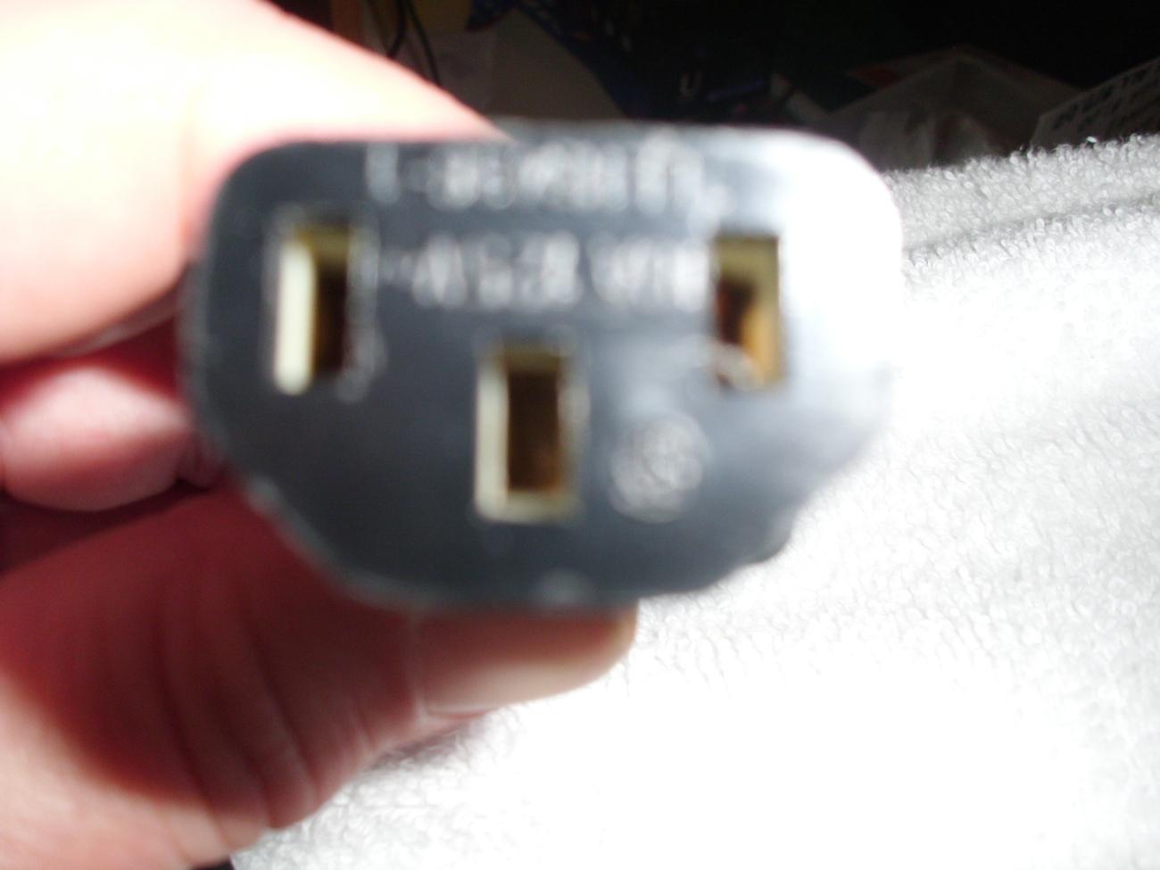 Printer/Computer Tower Power Cord image 2