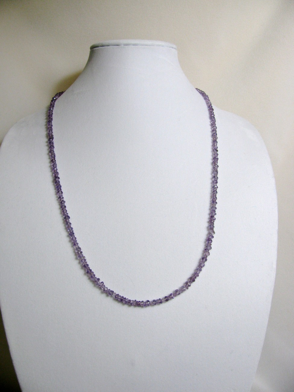 Amethyst Necklace 29 inches Sterling RKS258 RKMixables Silver Collection