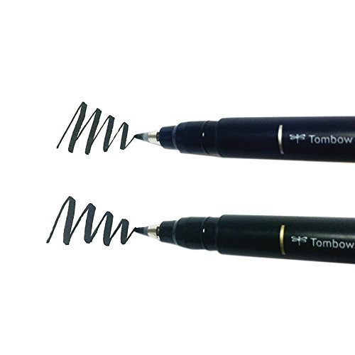 Fudenosuke Brush Pen, 2-Pack. Soft and Hard Tip Fudenosuke Brush Pens image 7