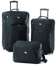 American Tourister Luggage Fieldbrook II 3 Piece Set, Black - $87.86