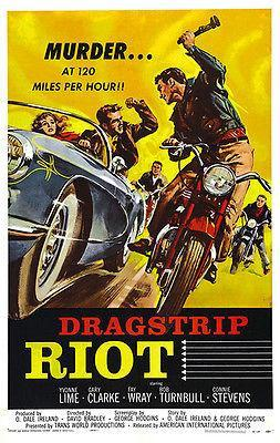 Primary image for Dragstrip Riot - 1958 - Movie Poster