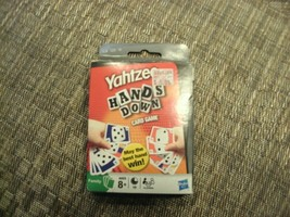 14#N   Pre-owned Complete Yahtzee Hands Down Card Game upc  Hasbro - $7.91