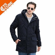 YsCube Mens Parka Jackets for Men Winter Coats for Men Down Parka Mens J... - $90.11