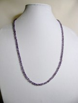 Amethyst Necklace 29 inches Sterling RKS258 RKMixables Silver Collection image 3